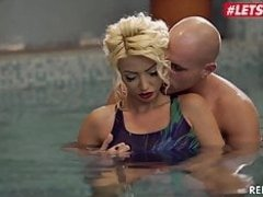 LETSDOEIT - Romanian MILF Ava Campos Has Hot Sex By The Pool