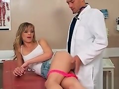 Superb Patient (Jillian Janson) Get Seduced By Doctor And Nailed video-13