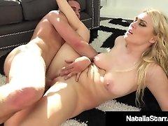 Cum Loving Natalia Starr Showered With Liquid Man Love & H20