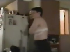 Quick Clip 6 (Just the Short Haired Stripping Naked)
