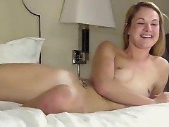 Teen student Hilary in hard core porn scene