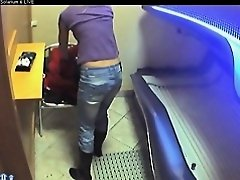 Voyeur livecam undressed cutie in solarium part25
