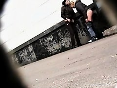 Girls Pissing voyeur video 36