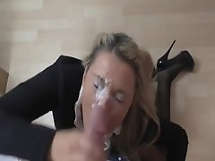 amateur blonde cum compilation