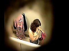Voyeur video with a lady's bosoms