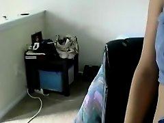 Slutty butt pop livecam dance record