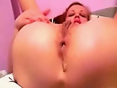 Watch me having hardcore anal masturbation session at home