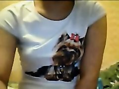 sexy girl masturbates  on chatroulette