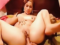 Mature Latina Does Nice Anal and Dp