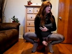 Redhead anal with bad dragon
