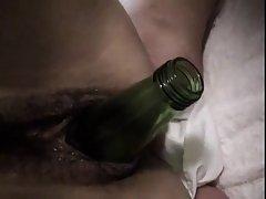 Bottle in Pussy - NC
