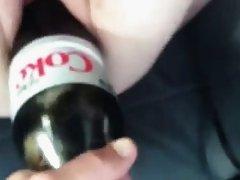 Bottle amateur pussy