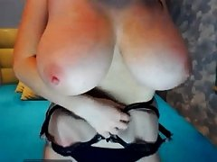 slim girl huge tits webcam