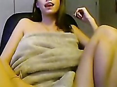 Humping my wet cunt with a sex toy