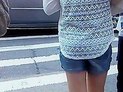 white see thru dress black undies