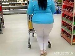 white seethrough legging