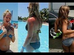 Sarah Kantorova Brassiere Bustin' Stripper Cock Hardening Bikini Vs Bikini