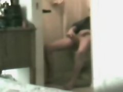Mom masturbating in toilet