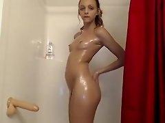 Under A Shower Masturbation Part 03